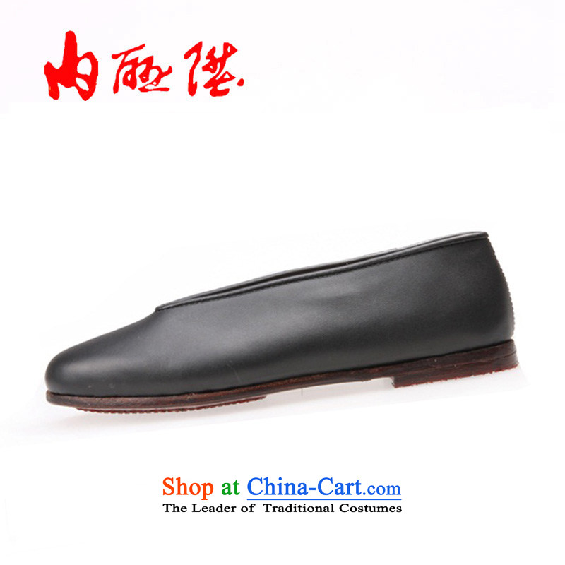 Inline l winter new-gon leather panelled Chipset Small$will women shoes7226Ablack37