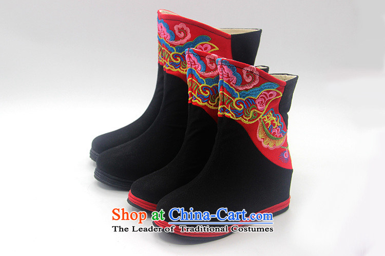 Is small and the old Beijing mesh upper for children of ethnic embroidery single boots ZCA06 black 37 pictures, prices, brand platters! The elections are supplied in the national character of distribution, so action, buy now enjoy more preferential! As soon as possible.
