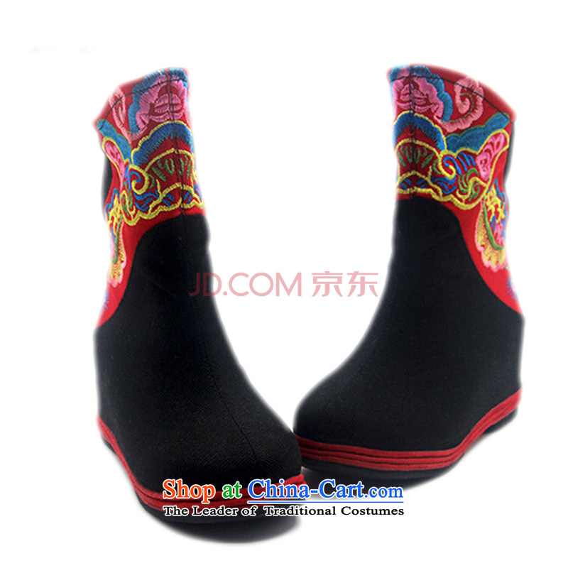 Is small and the old Beijing mesh upper for children of ethnic embroidery single bootsZCA06black37, is small-mi (LOVELY BEAUTY , , , shopping on the Internet