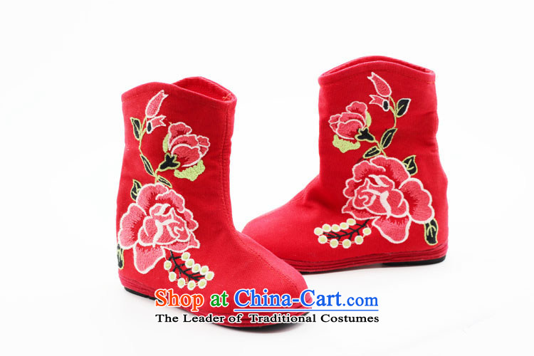 Is small and the old Beijing shoes of ethnic peony embroidery increased within the girl boots ZCA, H02 Green 36 pictures, prices, brand platters! The elections are supplied in the national character of distribution, so action, buy now enjoy more preferential! As soon as possible.
