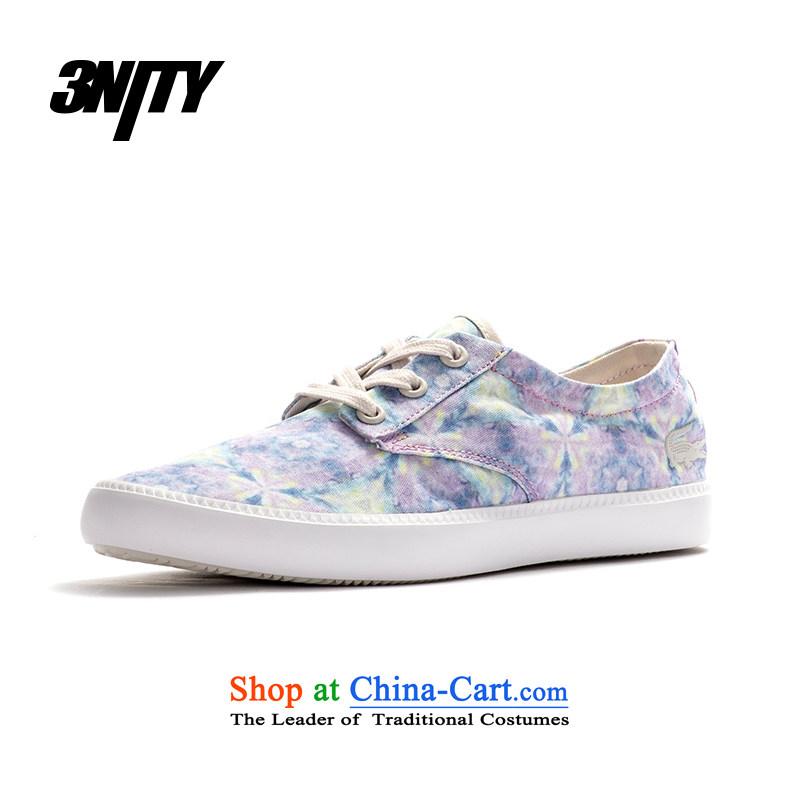 Lacoste/ Lacoste women shoes low canvas shoes Recreational Ships shoesMALAHINI KP SCW LT P LP6 37