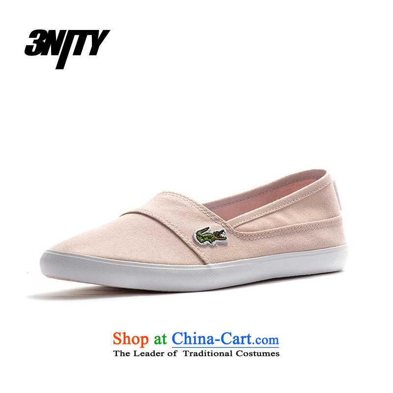 Lacoste_ Lacoste women shoes low profile for simple casual