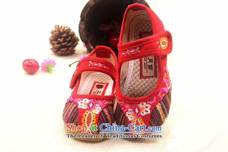 Is small and the ethnic embroidered thick beef tendon fourth quarter ZCA018 CHILDREN SHOES red 16 pictures, prices, brand platters! The elections are supplied in the national character of distribution, so action, buy now enjoy more preferential! As soon as possible.