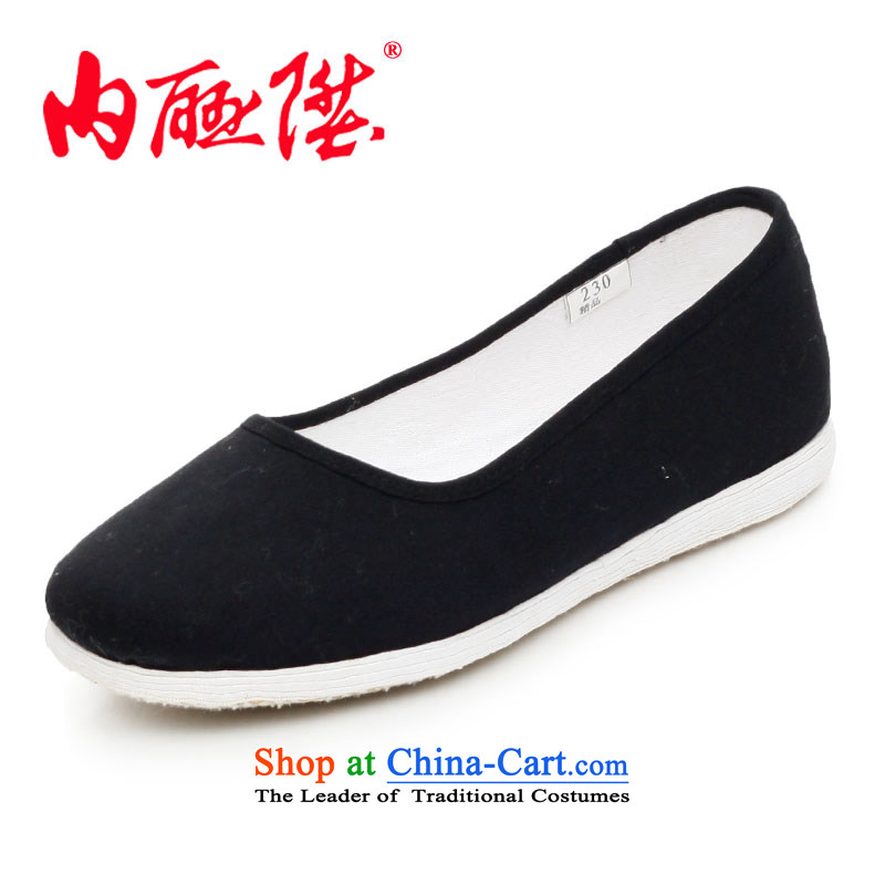 Inline l mesh upper hand-made shoes bottom thousands of dresses encryption is facing the sea, stylish and cozy old Beijing 8203A mesh upper black 8203A 36