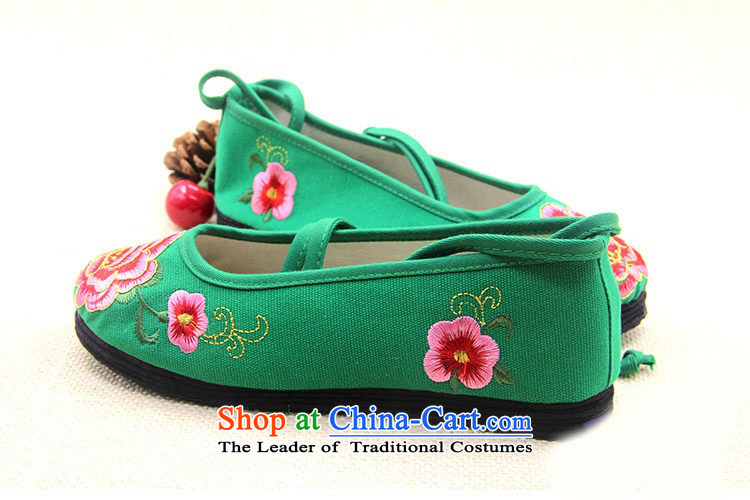Is small and the old Beijing mesh upper end of thousands of ethnic coagulates peony embroidered shoesZCA5021Green34 pictures, prices, brand platters! The elections are supplied in the national character of distribution, so action, buy now enjoy more preferential! As soon as possible.