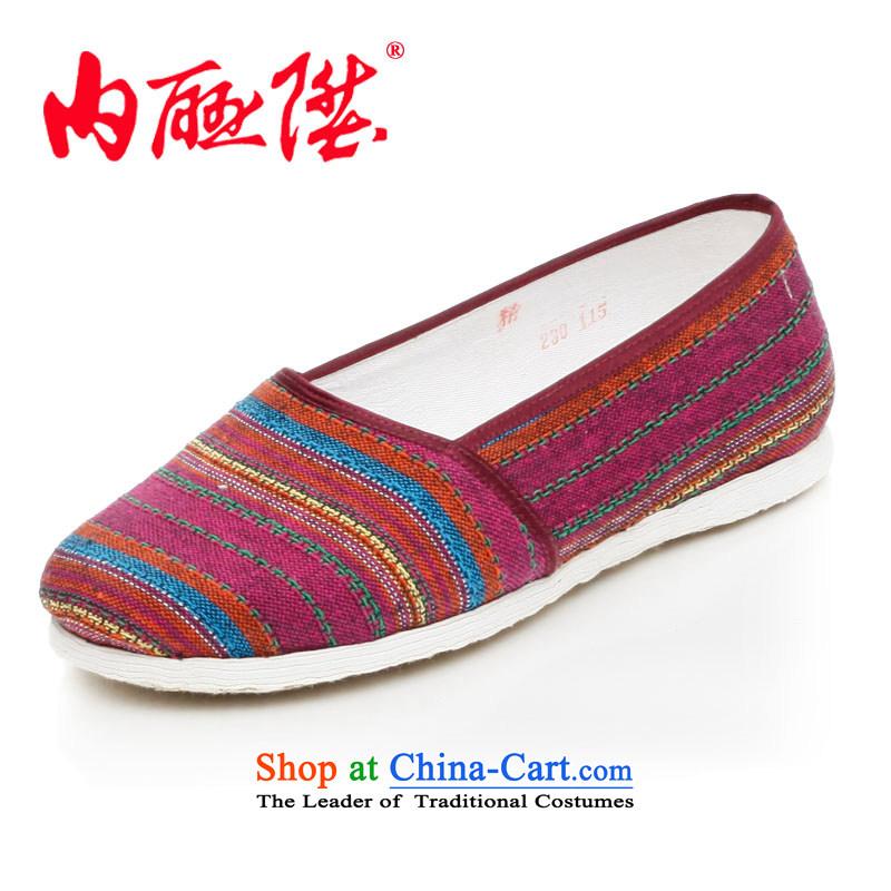 Inline l women shoes mesh upper end of thousands of female connector side port encryption of Old Beijing8277FAmix of mesh upper toner,41 XL