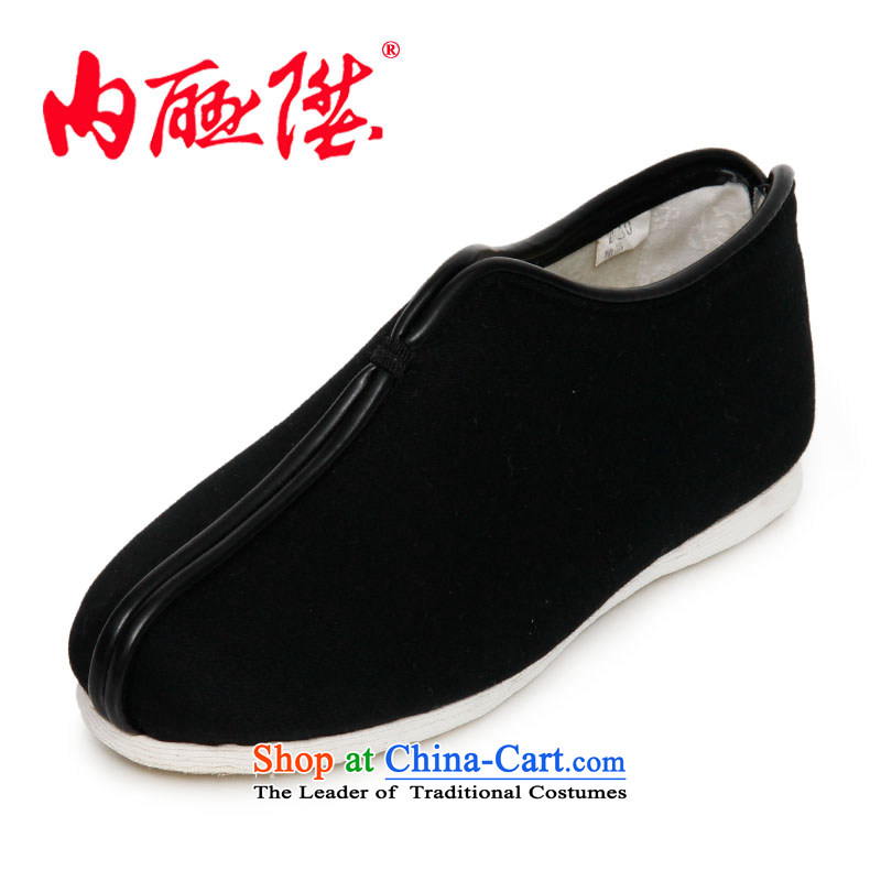 Inline l female cotton women shoes bottom thousands manually lytle cotton shoes for autumn and winter cotton shoes and stylish lounge old Beijing 8239A mesh upper black 41 XL