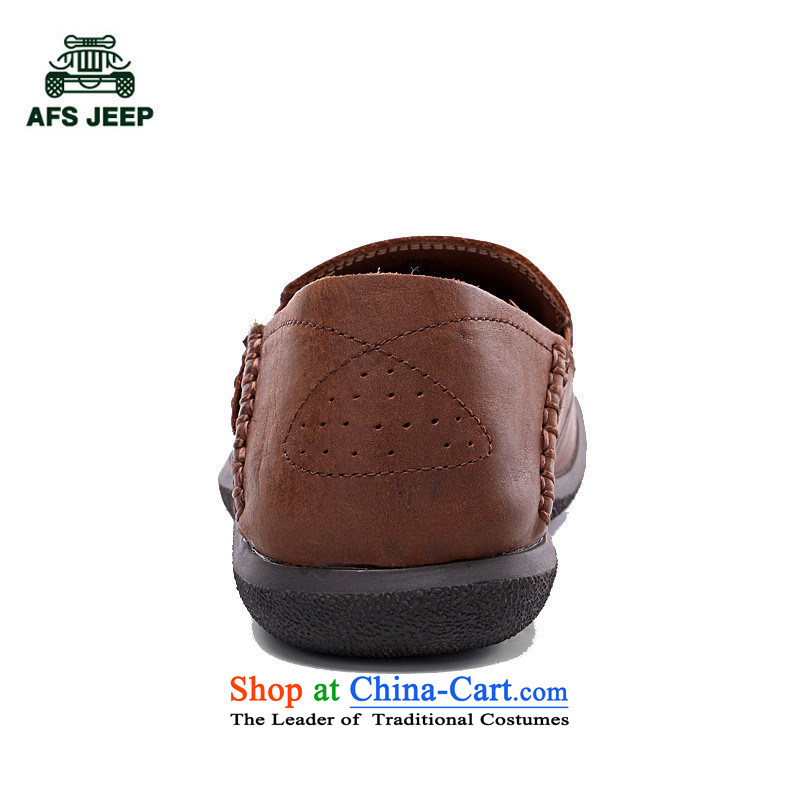 Field 4 Jeep Spring New Daily leisure leather hip trendy fashion shoes red brown39 2,556 field jeep (AFS).... JEEP shopping on the Internet