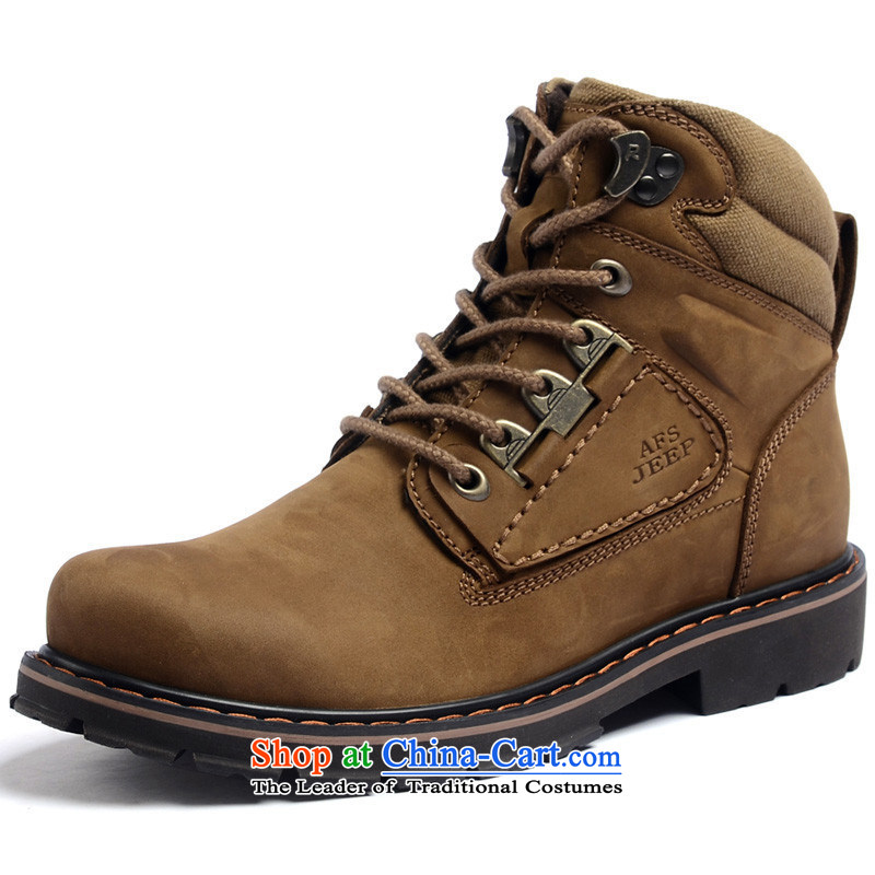 The field to the Roma-shoes men first layer is really the lint-free shoes 1A1180 psoriasis khaki聽42