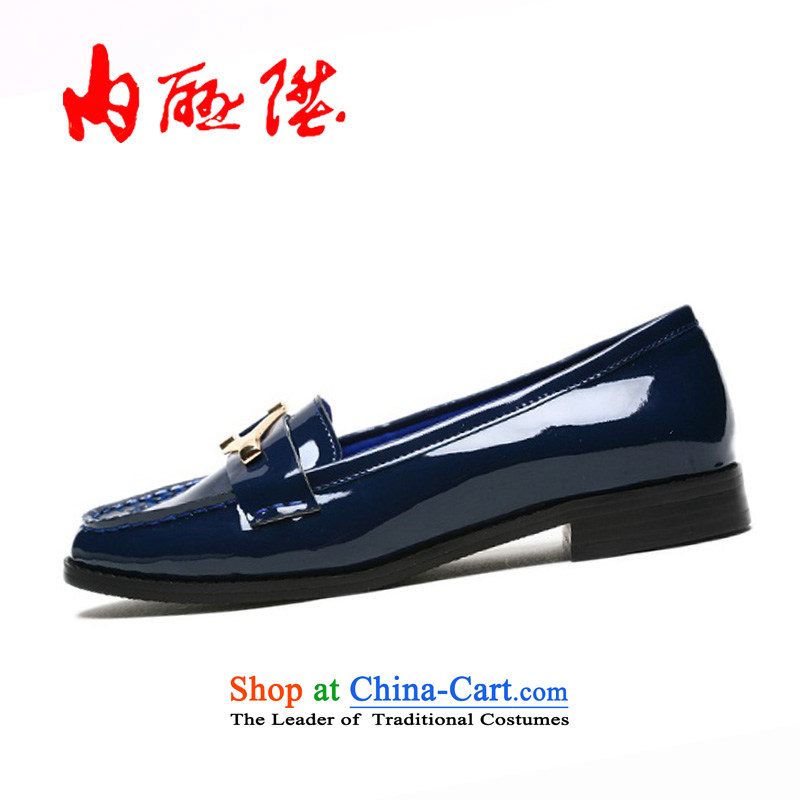 Inline l female old Beijing first layer mesh upper Ngau Pei-style leisure shoes6268C New Year gift black36