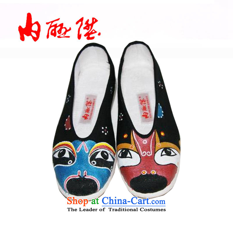 Inline l old Beijing mesh upper hand-painted female customised, bottom layer/gigabit encryption gift of $6 days 8603Z small shipment Front Face Painting37
