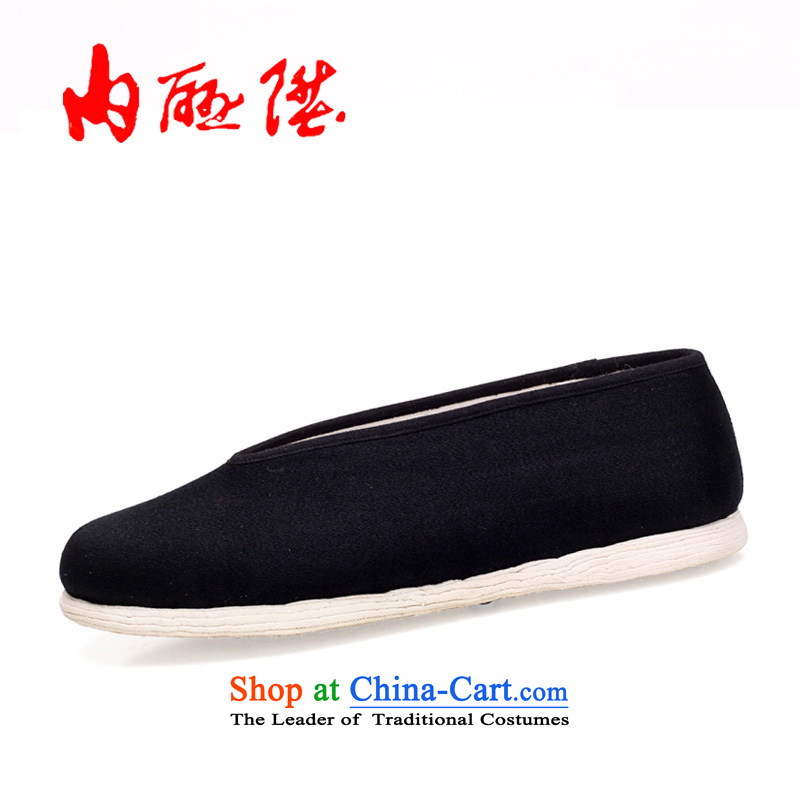 Inline l mesh upper female tangyan old Beijing mesh upper-gon thousands of small ceremony in the Encrypted 8603A Port Black 35