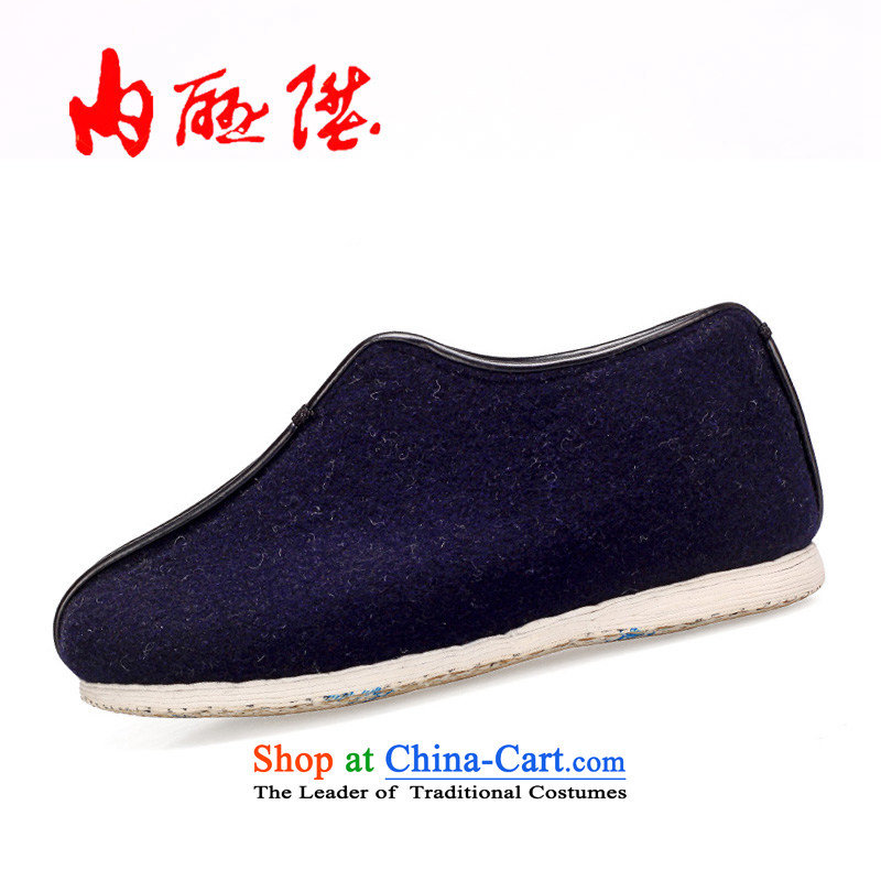 Inline l cotton shoes women shoes warm winter old Beijing mesh upper-gon thousands ground encryption on Cotton Women's? cotton shoes 8263A Blue聽37