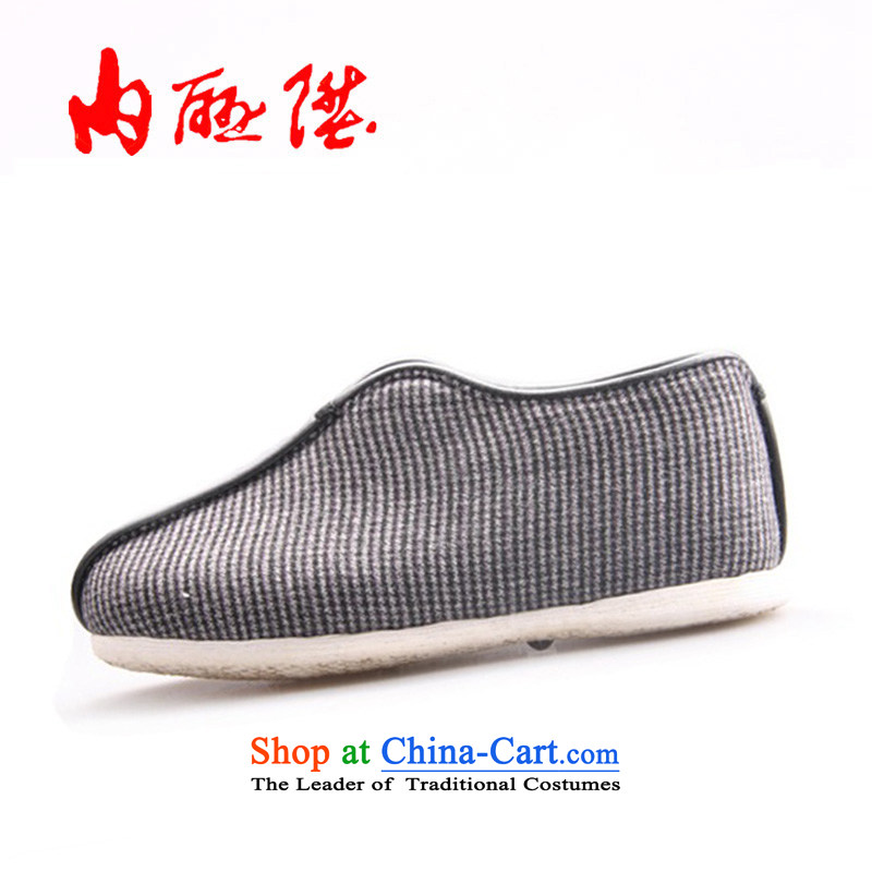 Inline l cotton shoes women shoes of Old Beijing hand-mesh upper mesh upper female cotton shoes-gon thousands of the cotton 8251A of purple?38