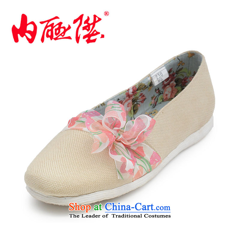Inline l women shoes mesh upper hand bottom of thousands of dollars in spring and autumn sea idyllic break the old-established Beijing 8268A 8268A mesh upper toner spend37