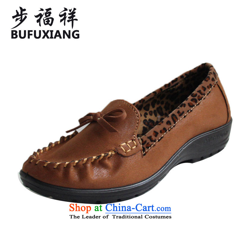 Step Fuxiang of Old Beijing stylish single shoe mesh upper leisure shoes single shoe flat shoe 30925A women shoes and color 38
