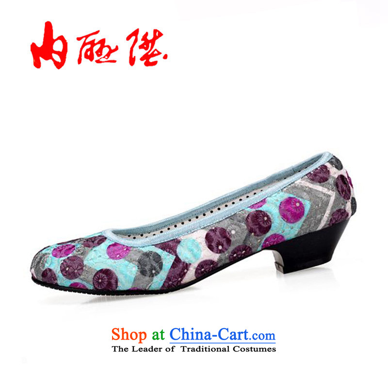 Inline l women shoes spring and fall, women's low by sea-yuan shoes6676CGreen40