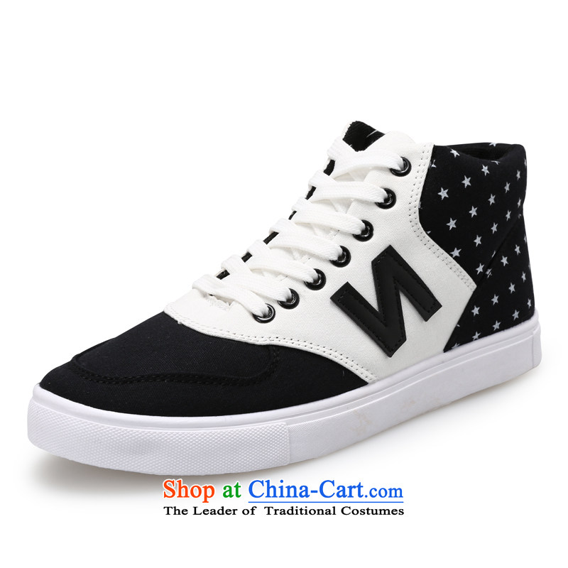 【 C.O.D.- 2014 New Ladies casual shoes wild thick cake canvas shoes leisure shoes black 37