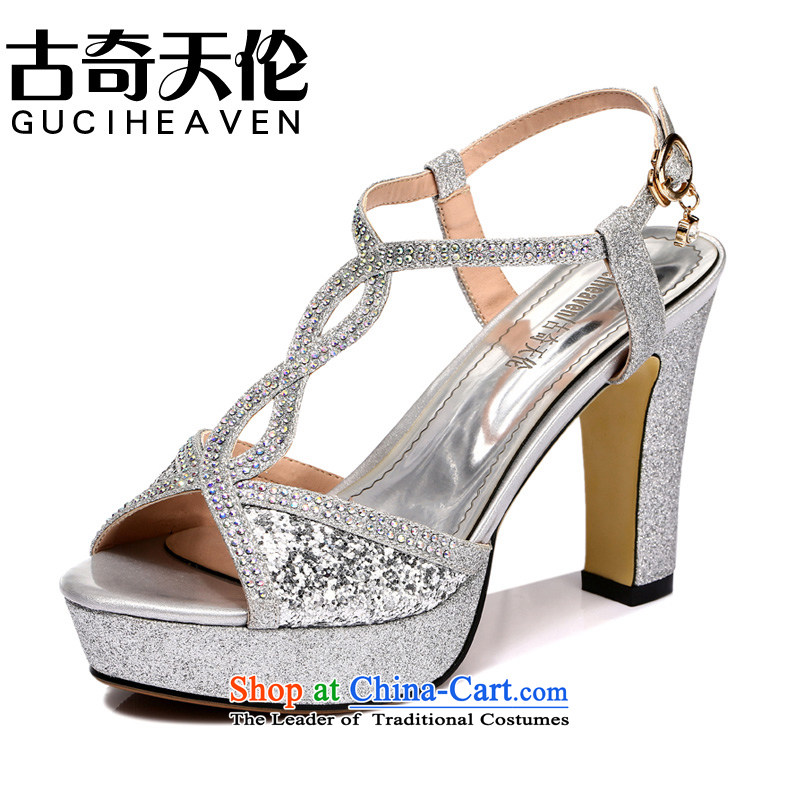 Genuine elections as soon as possible Gooch Tilen guciheaven fish tip women shoes increased within the Leisure shoes breathable mesh upper blue silk Lei 775 39