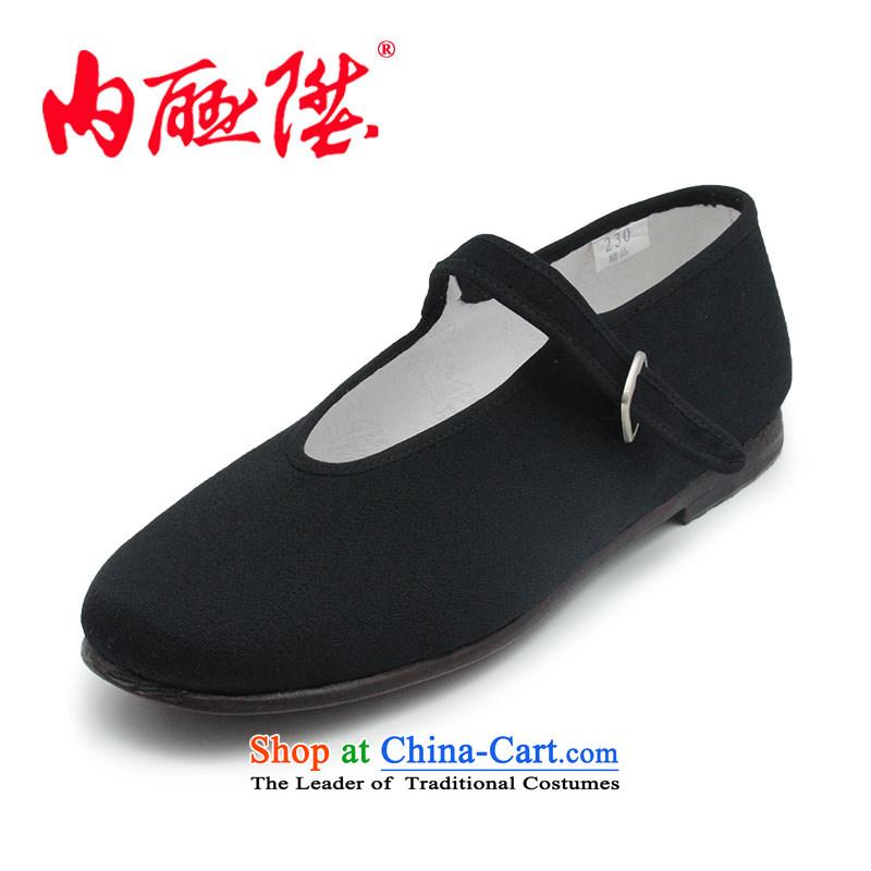Inline l women shoes mesh upper Ngau Pei ribbed end of parquet floor-Dress is smart casual shoes Mulan? Old Beijing7201A/7208A 7208A mesh upper floor wear slip-parquet35