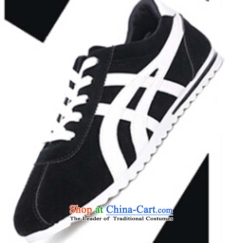The spring of 2015, good road, the new trend of Korean men's sports shoes with soft, lint-free cloth with a casual male shoes against a GanY-520 shoes, 1 black39