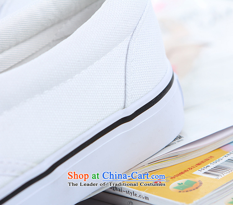 In the fourth quarter of 2015, flat a lazy person shoe kicking female couple shoes students shoes bottom Oxford white canvas shoes white shoes black 39 female picture, prices, brand platters! The elections are supplied in the national character of distribution, so action, buy now enjoy more preferential! As soon as possible.