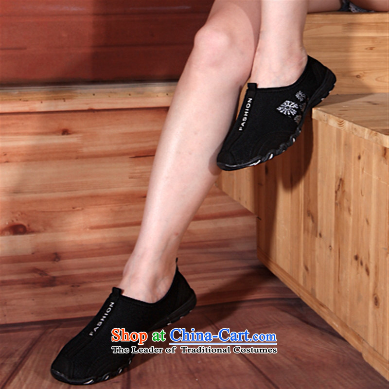 Cow hegemonic women shoes breathable mesh upper drive shoes shoes Package Mail 2015 Spring/Summer new leisure shoes 221 Black 39
