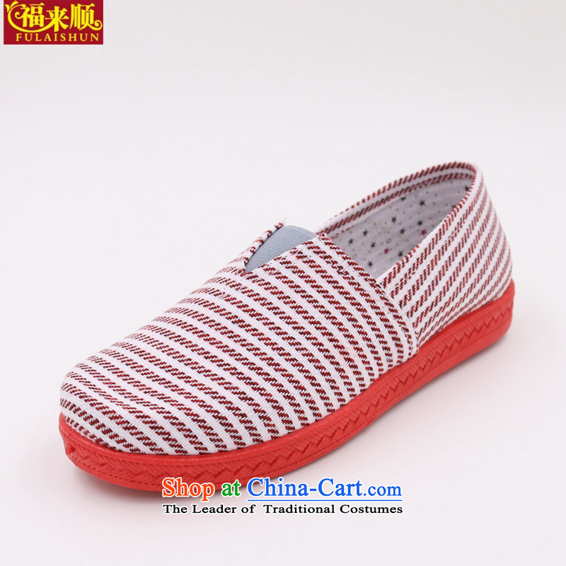 The old Beijing female mesh upper round head pin leisure shoes , women shoes 15-9-10 breathable mesh upper with comfortable rose 35