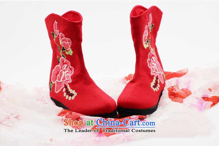 Is small and the old Beijing mesh upper ethnic Mudan increased within embroidery female boots ZCA, H02 Red 35 pictures, prices, brand platters! The elections are supplied in the national character of distribution, so action, buy now enjoy more preferential! As soon as possible.