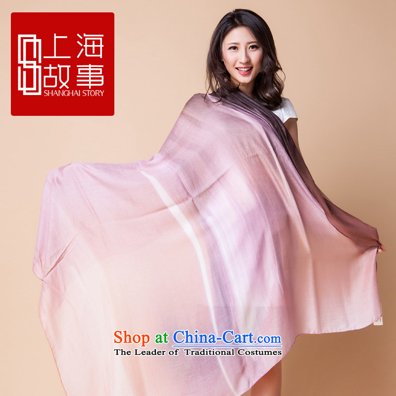 Shanghai Story Ms. long wool scarf imported Italian shawl European impression shawl suit 2