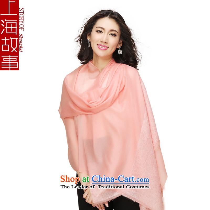 Shanghai Story Ms. Angola pashmina shawl warm and stylish toner residues