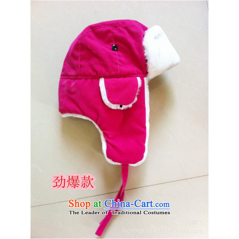 Lint-free women from Lei Feng Cap Beijing Youth hat warm winter hat thick red in the thick suede-clip 150g by-32,lifepost,,, shopping on the Internet