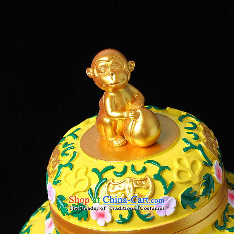 The Ascott Ying Ching on 2016 Year of the monkey Wanfang toward the well-placed monkeys Ding Liege of Sin Hak decor furnished with gifts, clear the Chinese zodiac Ying Court shopping on the Internet has been pressed.
