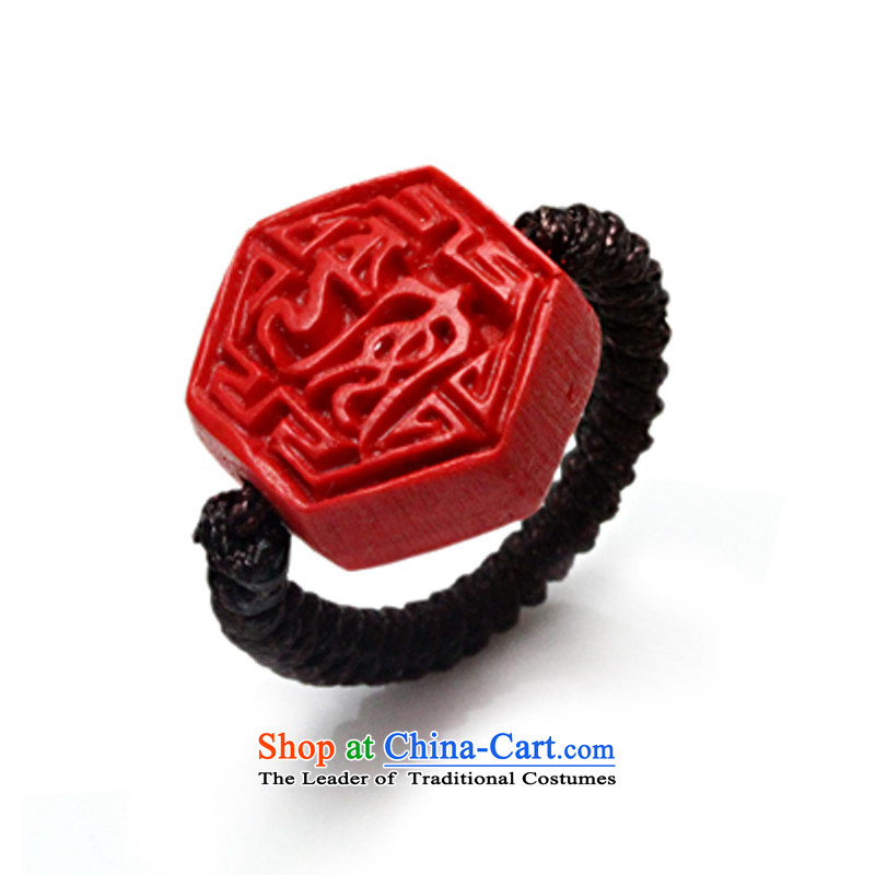 As China red paint Selina Chow ring hand-carved in the life of the Geumgang girlfriend birthday gift to other sizes down please leave a message