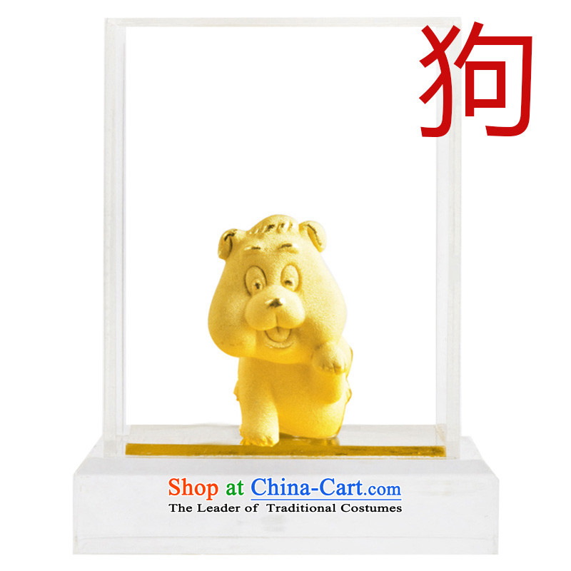 Dream of gold thousands mkela carat gold ornaments lint-free cast gold ornaments thousands of gold cast Kim 12 animals of the Chinese zodiac ornaments cattle, Dream Accra shopping on the Internet has been pressed.