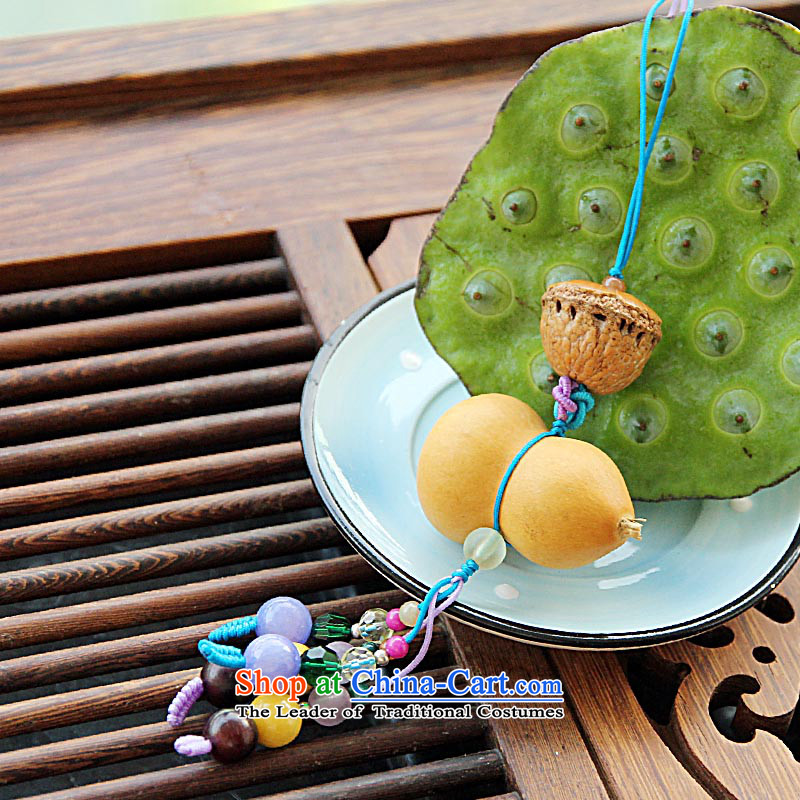 Maizawa days natural lime gourd various small natural stone package hanging cart hanging girls China wind gift, MAIZAWA WUZETIAN days () , , , shopping on the Internet