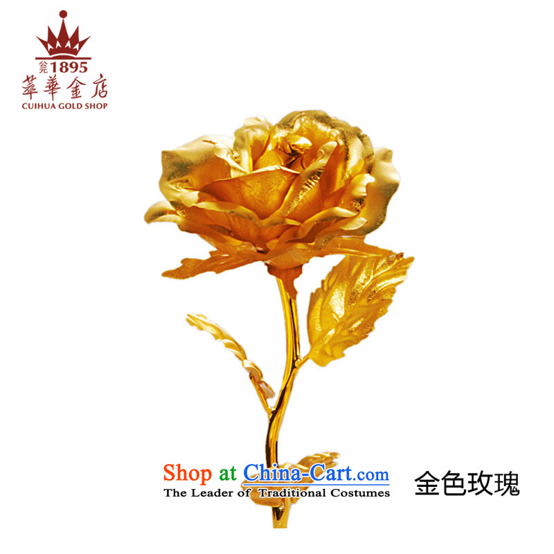 Moratorium on the Chinese gold shop gold foil gold flower carnations rose to the authentication certificate birthday gift gilded roses Valentine's Day gift sets of roses.