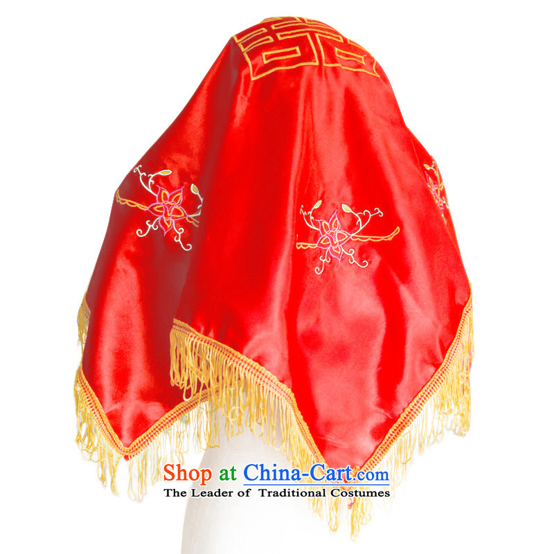 Water & bridal red cap kpa) married Joy of traditional Chinese dragon head 60cm-80cm use qipao cover