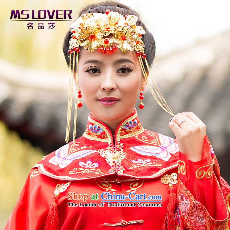 Chinese bride flow mslover Su Feng Crown Classical headdress Sau Wo Service accessories and ornaments GS141203 Cheongsam