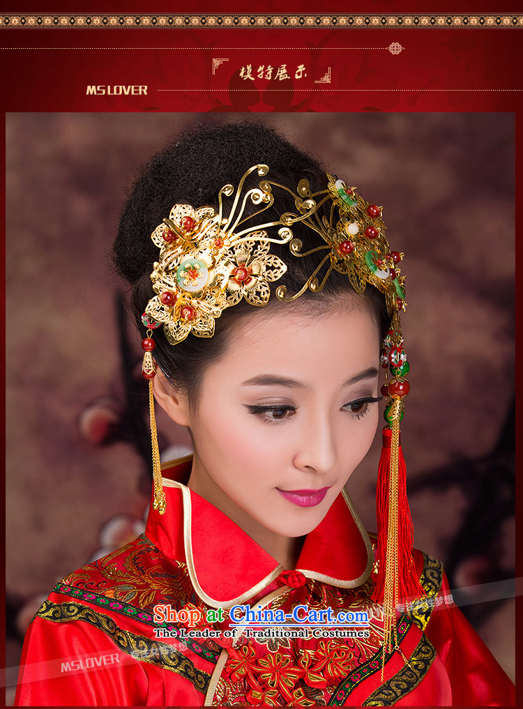 聽The new Chinese retro mslover Head Ornaments bride-soo wo service was adorned with old knick-bong of Crown聽GS141204 picture, prices, brand platters! The elections are supplied in the national character of distribution, so action, buy now enjoy more preferential! As soon as possible.