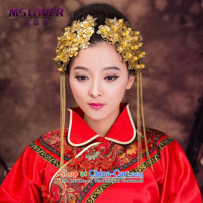 Chinese New Year 2015 mslover bride wedding dresses and ornaments Soo kimono accessories Bong-sam hui a pair of GS141206