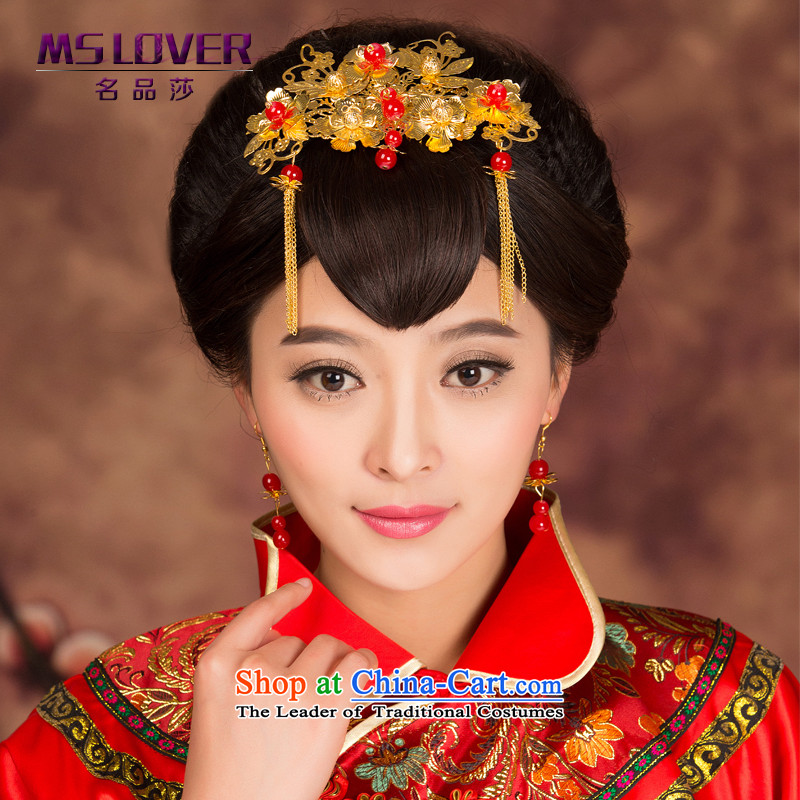 2015 new bride mslover headdress retro hair decorations Chinese Soo kimono accessories for ornaments聽GS141209 edging