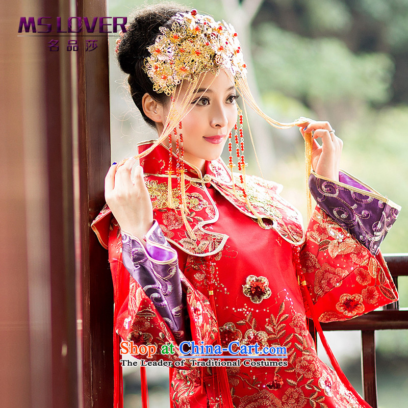 The new Chinese retro mslover Fung Sau Wo Crown bridal services for international accessories and ornaments Sufa Koon GS141215 flow