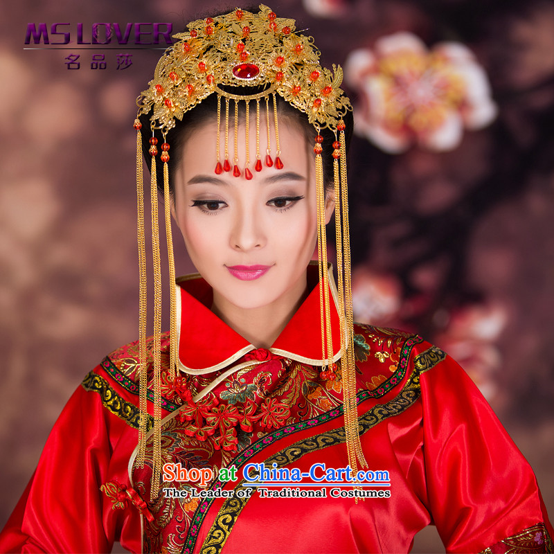 The new 2015 mslover Koon-soo Wo Service Accessories Head Ornaments bride Bong-sam Hui Jewelry Chinese stream su GS141217 hair accessories
