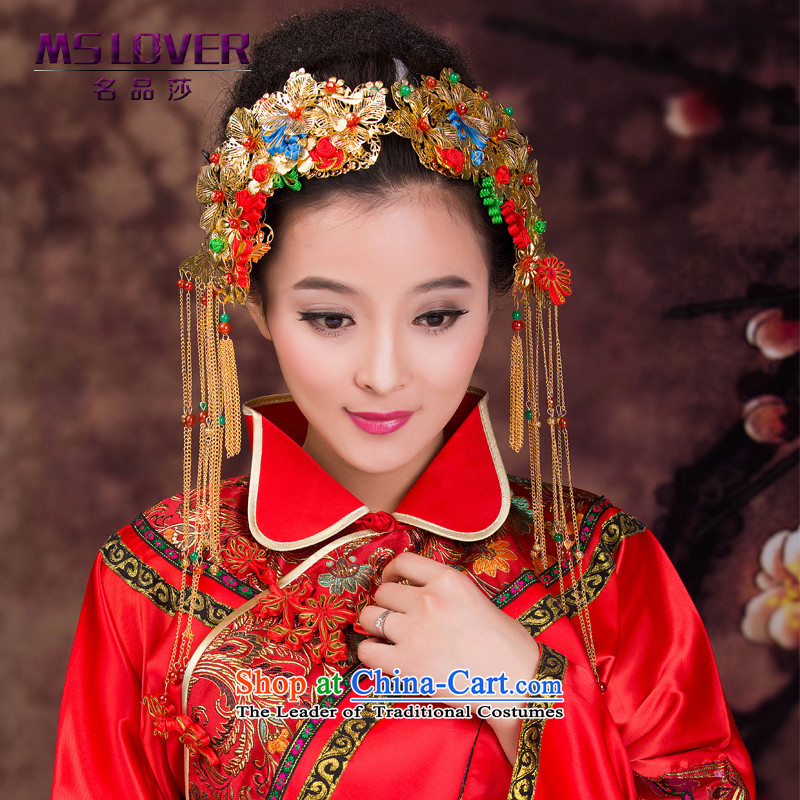 聽Chinese bride head-dress mslover classical edging headdress Sau Wo Service Head ornaments of the world of ancient聽GS141219