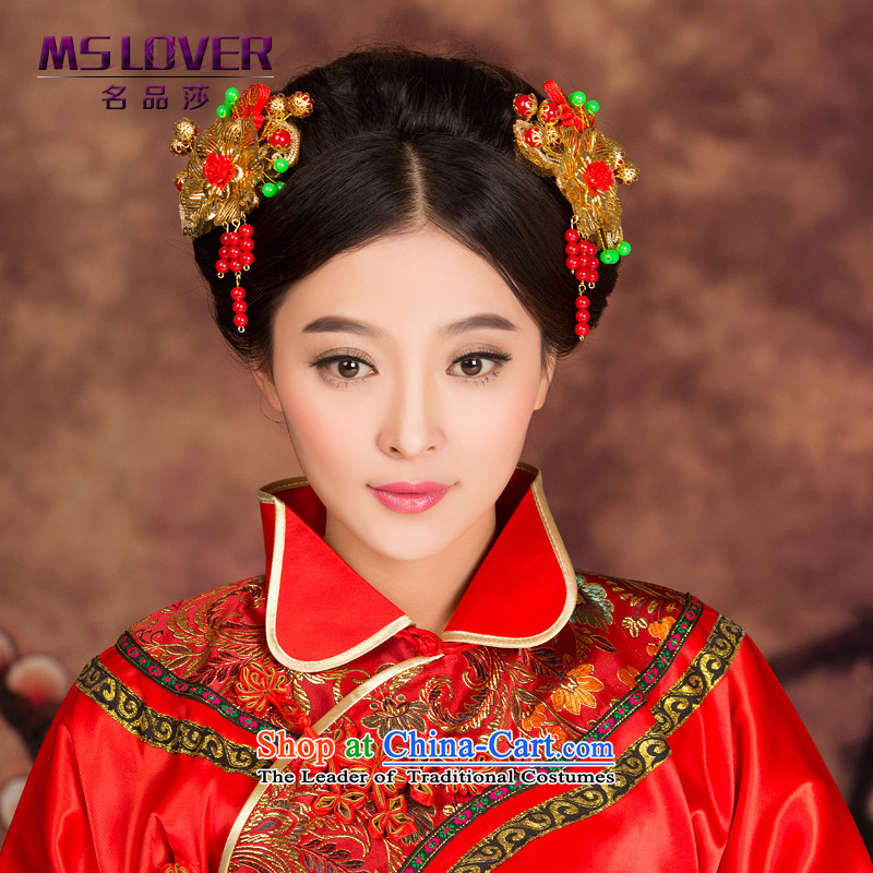 Head Ornaments classical mslover hair decorations qipao Soo kimono bride Head Ornaments ancient GS141225 accessories