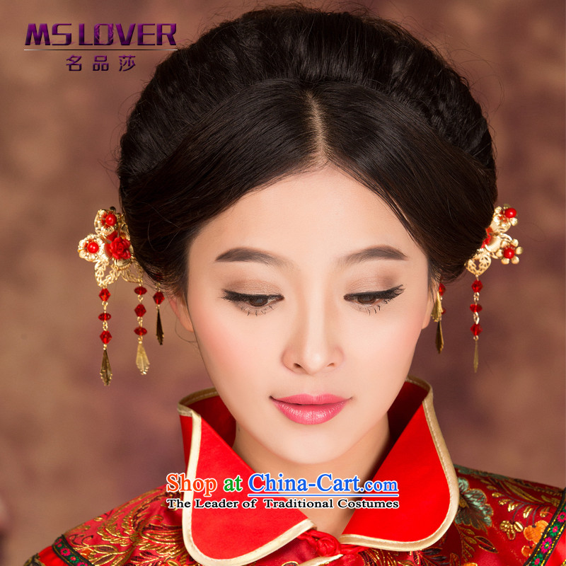 聽Ancient bride head-dress mslover cheongsam Dragon Head Ornaments married use hair accessories to shake the step Kim聽GS141226