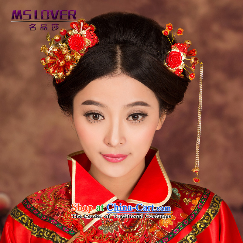 Ancient headdress flow mslover Su Chinese bride-soo kimono headdress qipao accessories classic rock GS141229 step by Ornate Kanzashi