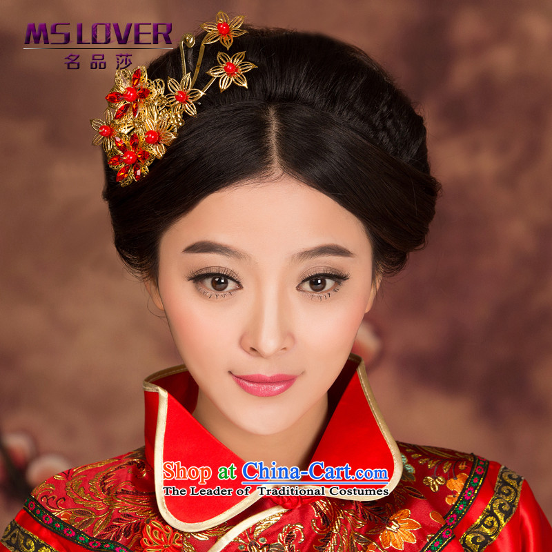 The new 2015 mslover Head Ornaments bride-soo Wo Service marriage accessories hair accessories Chinese Head Ornaments GS141230