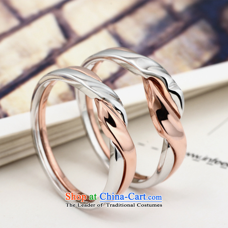Silver, silver couples in Connie rings couples a pair of ancient Korean version of the love of sweet romantic lip seal of silver, Stephanie (yinsini) , , , shopping on the Internet